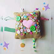 Stuffed Toys handmade. Livemaster - original item Touch toy, touch pouch, tactile toy