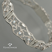 Украшения handmade. Livemaster - original item Gold bracelet