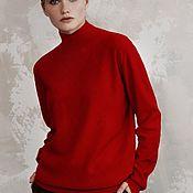 Одежда handmade. Livemaster - original item Cashmere knitted sweater Lady. Handmade.