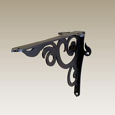 """Мебель ручной работы. Ярмарка Мастеров - ручная работа Кронштейн для полок """"Афос 180"""". Handmade."""