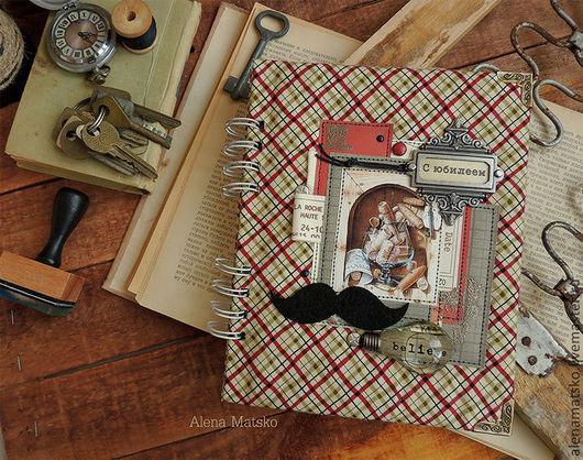 Персональные подарки ручной работы. Ярмарка Мастеров - ручная работа. Купить Книга пожеланий для мужчины. Handmade. Хаки, подарок на юбилей