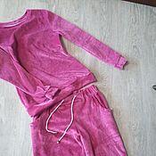 Одежда ручной работы. Ярмарка Мастеров - ручная работа Домашний костюм Сильвия. Handmade.