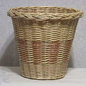 Цветы и флористика handmade. Livemaster - original item wicker planter for potted flowers. Handmade.