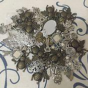 Материалы для творчества ручной работы. Ярмарка Мастеров - ручная работа Набор подвесок 60 штук. Handmade.