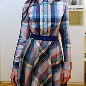 Платья ручной работы. Ярмарка Мастеров - ручная работа Платье-рубашка. Handmade.