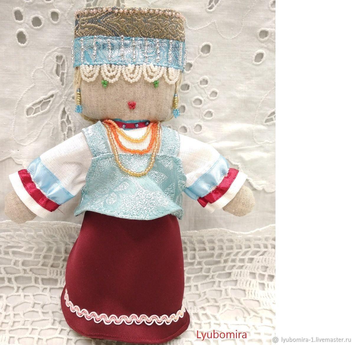 Кукла Всеслава, Народная кукла, Санкт-Петербург,  Фото №1