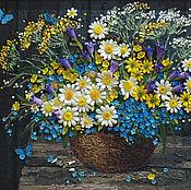 Картины и панно handmade. Livemaster - original item The aroma of wild flowers. From the series