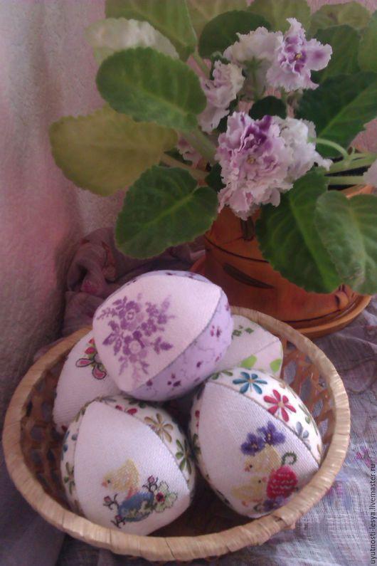 Подарки на Пасху ручной работы. Ярмарка Мастеров - ручная работа. Купить Пасхальные яйца с вышивкой. Handmade. Комбинированный, пасхальный подарок