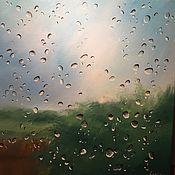 Картины и панно ручной работы. Ярмарка Мастеров - ручная работа Капли дождя. Handmade.