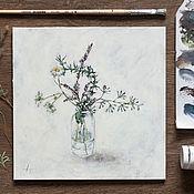 Картины и панно ручной работы. Ярмарка Мастеров - ручная работа Терпкий аромат лета. Handmade.