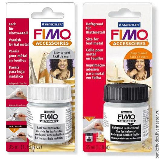 Лак, клей для потали FIMO 35 мл