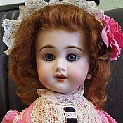 Куклы и игрушки ручной работы. Ярмарка Мастеров - ручная работа Антикварная французская кукла SFBJ. Handmade.