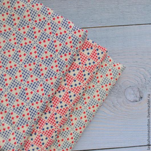 Шитье ручной работы. Ярмарка Мастеров - ручная работа. Купить Хлопок отрез 45х50 см 3 цвета. Handmade. Хлопок