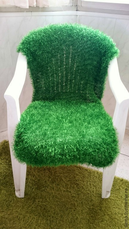 """Текстиль, ковры ручной работы. Ярмарка Мастеров - ручная работа. Купить Покрывало  """"Трава"""" (мини - версия). Handmade. Зеленый, лес"""