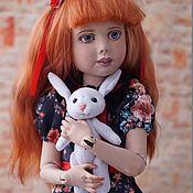 Шарнирная кукла ручной работы. Ярмарка Мастеров - ручная работа Шарнирная кукла Анастасия. Handmade.