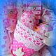 Куклы тыквоголовки ручной работы. Кудряшка Сью. Светлана Савчук. Ярмарка Мастеров. Кукла интерьерная, кружево винтажное