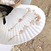 Цепочка ручной работы. Ярмарка Мастеров - ручная работа Цепочка для очков с жемчугом. Handmade.
