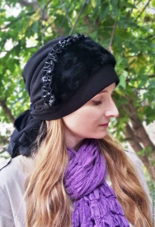 Потрясающе теплая и красивая шапка-бандана Вострг