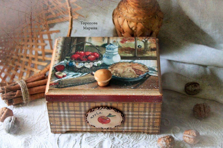 A big box made of pine ' Apple pie', Box, Krasnoyarsk,  Фото №1