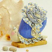 Куклы и игрушки ручной работы. Ярмарка Мастеров - ручная работа Улитка тильда Жемчужинка улиточка подарок. Handmade.