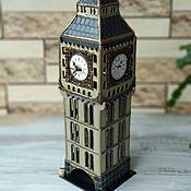 Для дома и интерьера handmade. Livemaster - original item Tea house with the clock