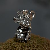 Материалы для творчества handmade. Livemaster - original item Ratatouille charm. Handmade.
