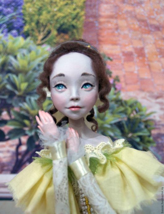 Коллекционные куклы ручной работы. Ярмарка Мастеров - ручная работа. Купить Жюльетт. Handmade. Комбинированный, девочка, Мериносовая шерсть