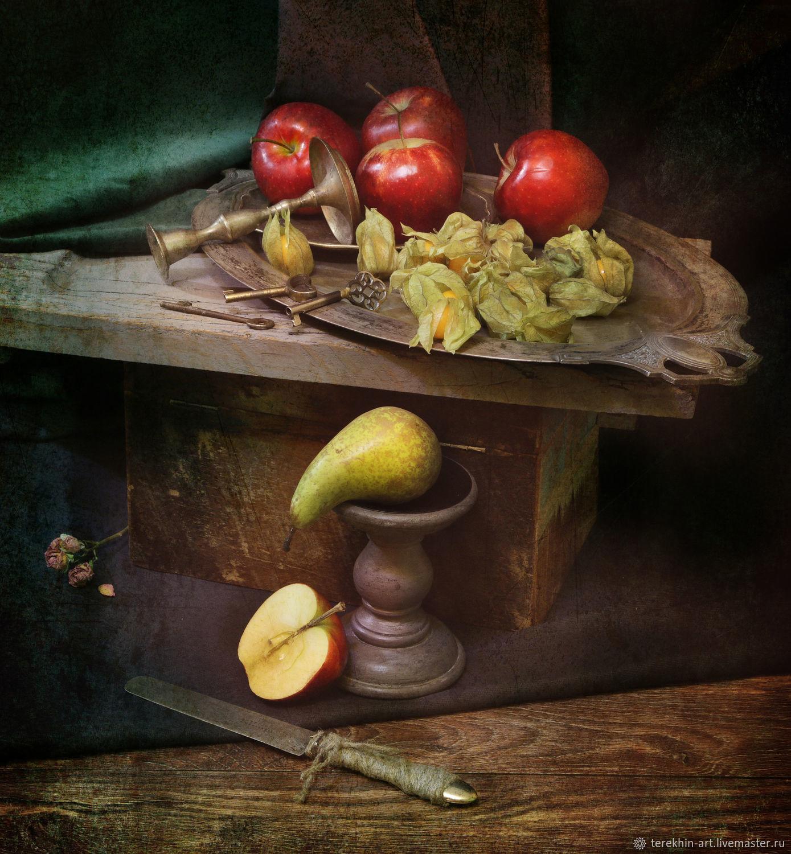 """Натюрморт """"Четыре с половиной яблока"""", Фотографии, Москва,  Фото №1"""