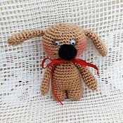 Куклы и игрушки ручной работы. Ярмарка Мастеров - ручная работа Собачка малышка. Handmade.