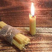 Сувениры и подарки ручной работы. Ярмарка Мастеров - ручная работа свечи Чабрец и Душица. Handmade.