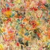 Картины и панно ручной работы. Ярмарка Мастеров - ручная работа Осенняя мелодия.. Handmade.