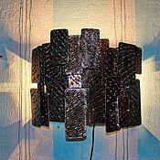 Для дома и интерьера ручной работы. Ярмарка Мастеров - ручная работа Светильник - ночник из металла. Handmade.