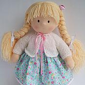 Куклы и игрушки ручной работы. Ярмарка Мастеров - ручная работа Аленушка, куколка по вальдорфским мотивам. Handmade.