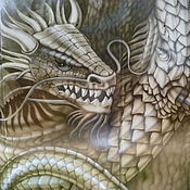 Дизайн и реклама ручной работы. Ярмарка Мастеров - ручная работа Древесный дракон. Handmade.