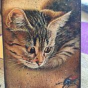 Подарки к праздникам handmade. Livemaster - original item Cats never too much (charity lot). Handmade.
