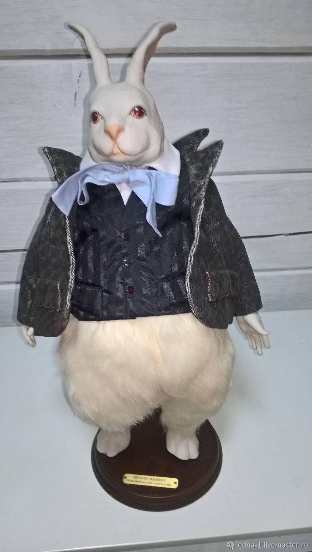 Кролик для Алисы, Портретная кукла, Москва,  Фото №1