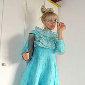 """Одежда ручной работы. Ярмарка Мастеров - ручная работа валяное платье"""" Училка 2"""". Handmade."""