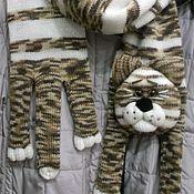 """Аксессуары ручной работы. Ярмарка Мастеров - ручная работа Котошарф """"Финдус"""". Handmade."""