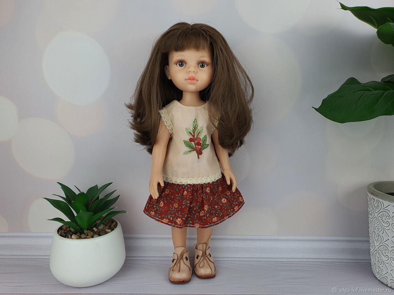комплект из платья и ботиночек, Одежда для кукол, Чита,  Фото №1
