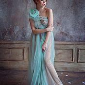 Платья ручной работы. Ярмарка Мастеров - ручная работа Платья: Платье в стиле бохо «Дикая мята». Handmade.