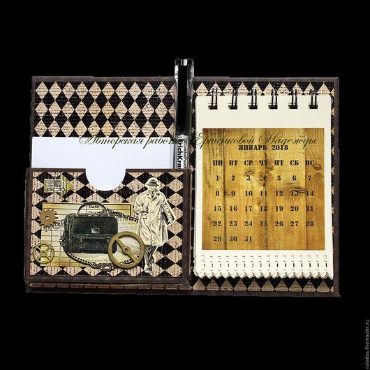 Магниты ручной работы. Ярмарка Мастеров - ручная работа. Купить Магнит органайзер-календарь на холодильник. Handmade. Магнит, магниты на холодильник