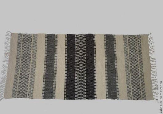 Текстиль, ковры ручной работы. Ярмарка Мастеров - ручная работа. Купить шерстяной половик. Handmade. Комбинированный, эко-стиль