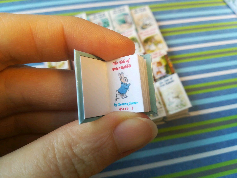 Mini books Beatrix Potter, Magnets, St. Petersburg,  Фото №1