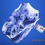 Одежда для питомцев ручной работы. Ярмарка Мастеров - ручная работа Майка сиреневый туман. Handmade.