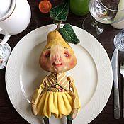 Куклы и игрушки ручной работы. Ярмарка Мастеров - ручная работа Груша.. Handmade.