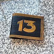 Сумки и аксессуары handmade. Livemaster - original item Wallet Fallout Vault 13. Handmade.