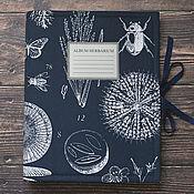 Канцелярские товары handmade. Livemaster - original item Album for a herbarium Naturalist (A4, 20 plants). Handmade.
