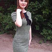 Вязаное авторское платье ОДЕССА