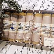 Сувениры и подарки handmade. Livemaster - original item Gift set of candles with herbs for any occasion. Handmade.