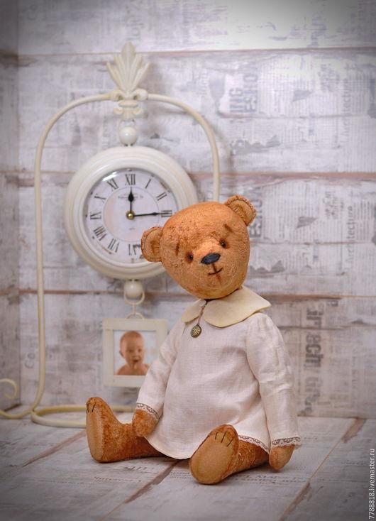 Мишки Тедди ручной работы. Ярмарка Мастеров - ручная работа. Купить Марта. С любовью... Handmade. Коричневый, плюшевая игрушка